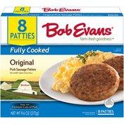 Bob Evans Farms Original Fully Cooked Pork Sausage Patties