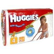 Huggies Diapers, Size 4 (22-37 lb), Disney, Super Mega