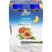LALA Harvest Peach Yogurt Smoothie with Probiotics