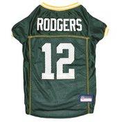 Pet First Medium Green Bay Packers Aaron Rodgers Pet Player Jersey