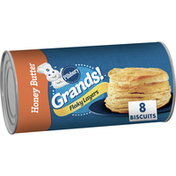 Pillsbury Grands! Flaky Layers, Honey Butter Biscuits, 8 Count