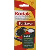 Kodak Camera, Single Use, 27 Exposures