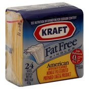 Kraft Cheese Product, Pasteurized Prepared, Fat Free, American