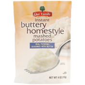 Our Family Buttery Homestyle Instant Mashed Potatoes