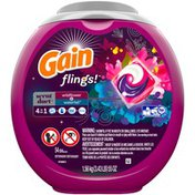 Gain flings! Scent Duets Laundry Detergent Pacs, Wildflower and Waterfall, 54 count  Laundry