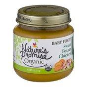 Nature's Promise Organic Baby Food Sweet Potato Chicken 6m+