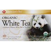 Uncle Lee's Teas White Tea, Organic, Bags