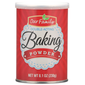 Our Family Double-Acting Baking Powder