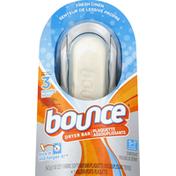 Bounce Dryer Bar Starter Kit, Fresh Linen