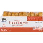 Food Lion Potato Patties, Hash Brown, Original