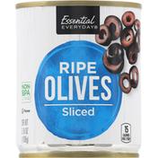 Essential Everyday Ripe Olives, Sliced