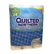 Quilted Northern Bathroom Tissue Paper, Ultra Soft & Strong Double Rolls