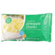 Food Club Unsweetened Pineapple Chunks