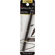 L'Oreal Liquid Eyeliner, The Super Slim, Brown 401