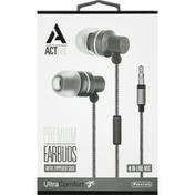 Sentry Pro Earbuds with Zippered Case, Premium