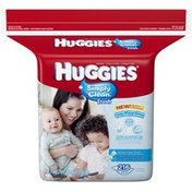 Huggies Simply Clean Fresh Refill Baby Wipes