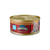 Blue Buffalo Wilderness Rocky Mountain Recipe High Protein Grain Free, Natural Adult Pate Wet Cat Food, Red Meat