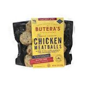 Butera's Chicken Meatballs Fully Cooked Made With Cauliflower And Roasted Tomato