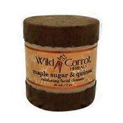 Wild Carrot Herbals Exfoliating Cleanser, Maple Quinoa