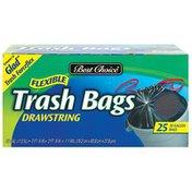 Best Choice Disposable Flex Trash Bags