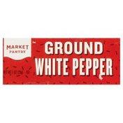 Market Pantry White Pepper, Ground