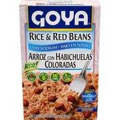 Goya Rice & Red Beans, Seasoned Rice Mix, Low Sodium