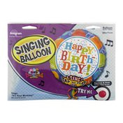 """Anagram Singing Balloon 28"""" It's Your Birthday Sing-A-Tune"""
