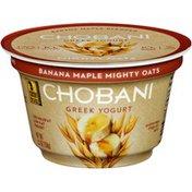 Chobani Mighty Oats Banana Maple Blended Low-Fat Greek Yogurt
