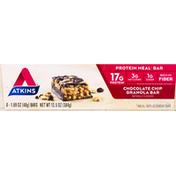 Atkins Protein Meal Bar, Chocolate Chip Granola Bar