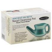 Ancient Secrets Nasal Cleansing Pot, Travel Model