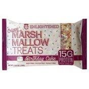 Enlightened Treats, Crispy Marshmallow, Birthday Cake