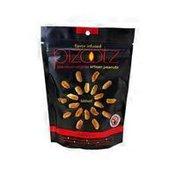 Pizootz habanero premium virginia artisan peanuts