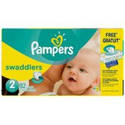 Pampers Premium Pampers Swaddlers Size 2 Super Pack with Coupons 92 Count  Diapers