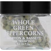 Morton & Bassett Spices Peppercorns, Green, Whole