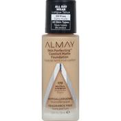 Almay Foundation, Comfort Matte, Warm Caramel 230