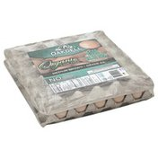 Oakdell Eggs, Organic, Medium, Brown, Value Pack