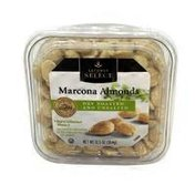 Signature Kitchens Marcona Almonds, Dry Roasted And Unsalted
