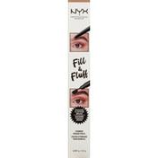 NYX Professional Makeup Eyebrow Pomade Pencil, Fill & Fluff, FFEP01 Blonde
