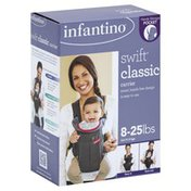 Infantino Carrier, Classic, Swift, 8-25 lbs