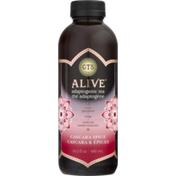 GTs Living Foods Tea Adaptogenic Cascara Spice Alive, Bottle