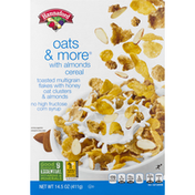 Hannaford Cereal, Oats & More, with Almonds