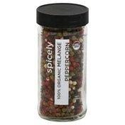 Spicely Organics Peppercorn, Melange, 100% Organic