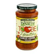 Francesco Rinaldi Tobe Healthy Garlic & Onion Pasta Sauce