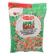 Our Family Apple Rolls Sweetened Multigrain Cereal With Real Apples & Cinnamon