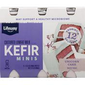 Lifeway Kefir, Unicorn Cake, Minis, 6 Pack