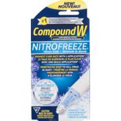CompoundW CN)  Wart Removal System Nitrofreeze, Box