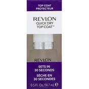 Revlon Top Coat, Quick Dry, 210