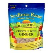 SunRidge Farms Dried Fruits Crystallized Ginger