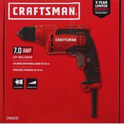Craftsman Drill/Driver, 7.0 Amp, 3/8 Inch