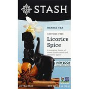 Stash Tea Licorice Spice, Caffeine Free